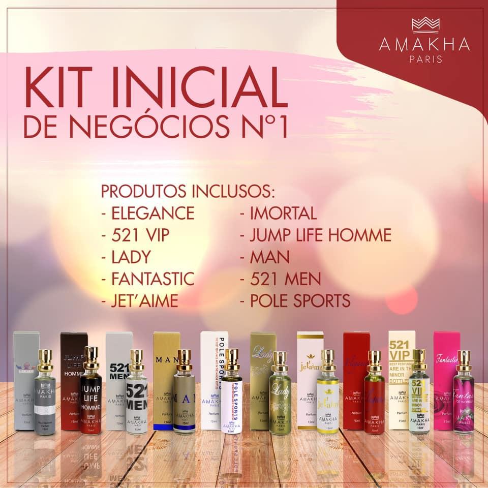 5 Kits Iniciais De Perfumes Amakha Paris